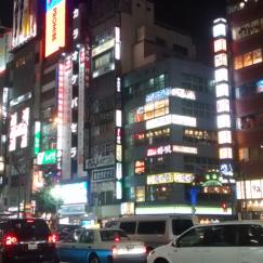 Shinjuku la nuit