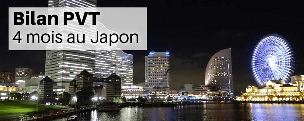 Bilan PVT - 4 mois au Japon