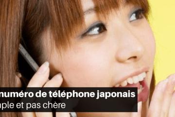 Obtenir un téléphone au Japon