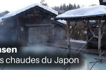 Les onsen, sources chaudes du Japon