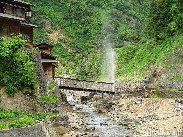 La montagne de Jigokudani