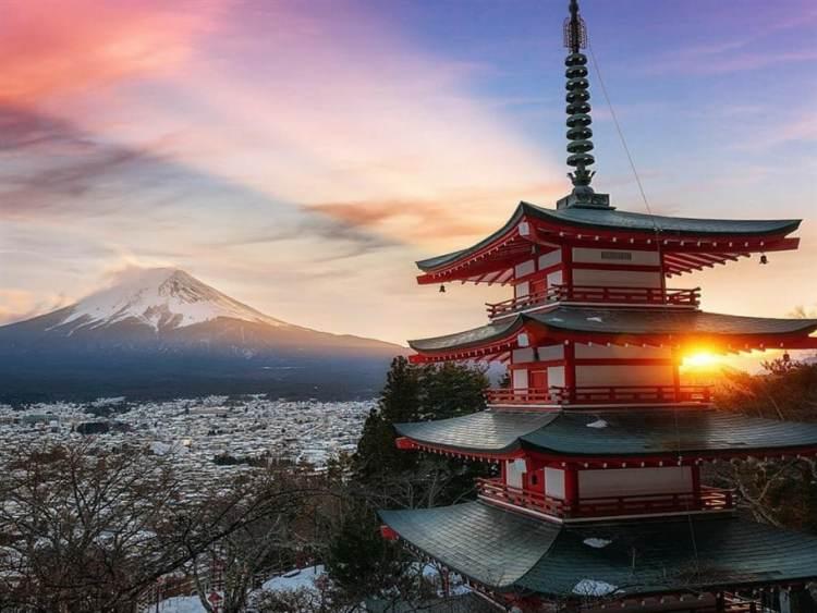 pagode-vue-fuji