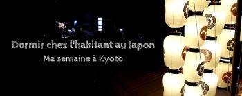 Dormir chez l'habitant au Japon