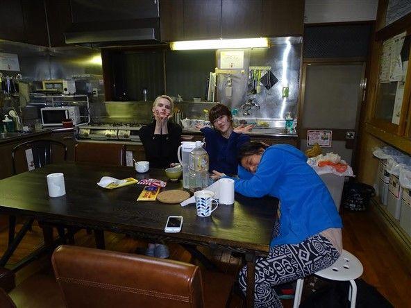 les japonais en guesthouse à Tokyo
