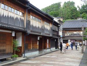 Le quartier traditionnel de Kanazawa Higashi Chaya