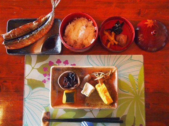 Un repas de Ryokan au Japon