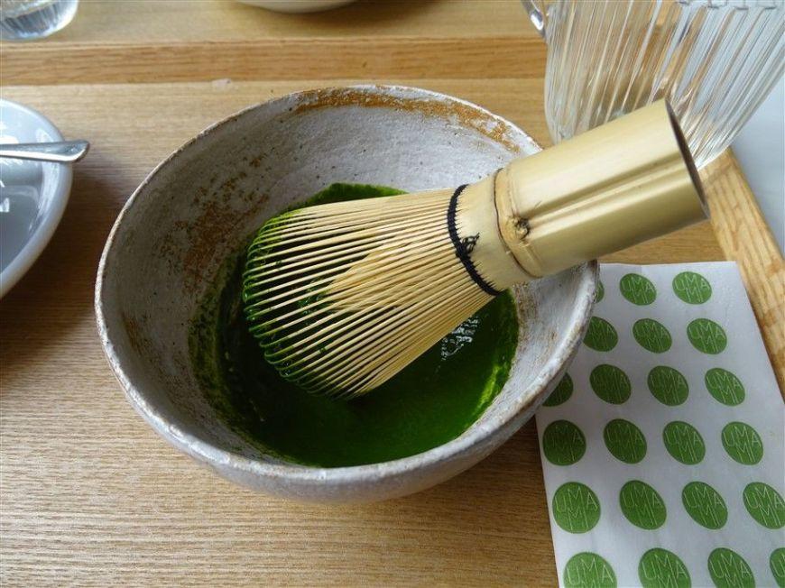 Préparation du thé japonais