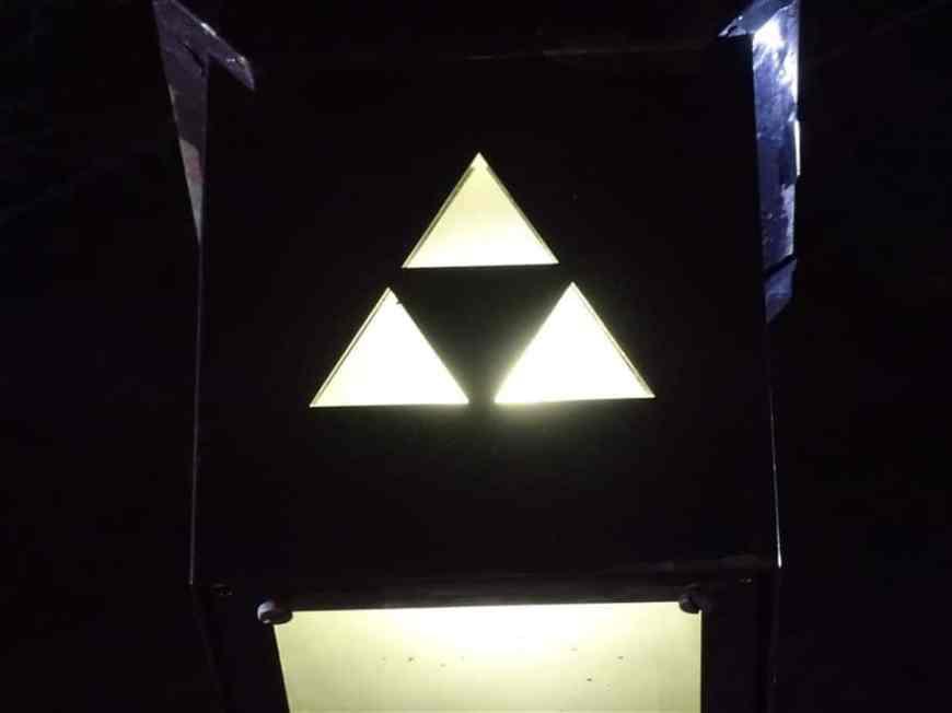 La triforce de Zelda