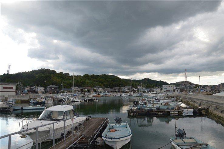 Un village de pêcheurs au Japon