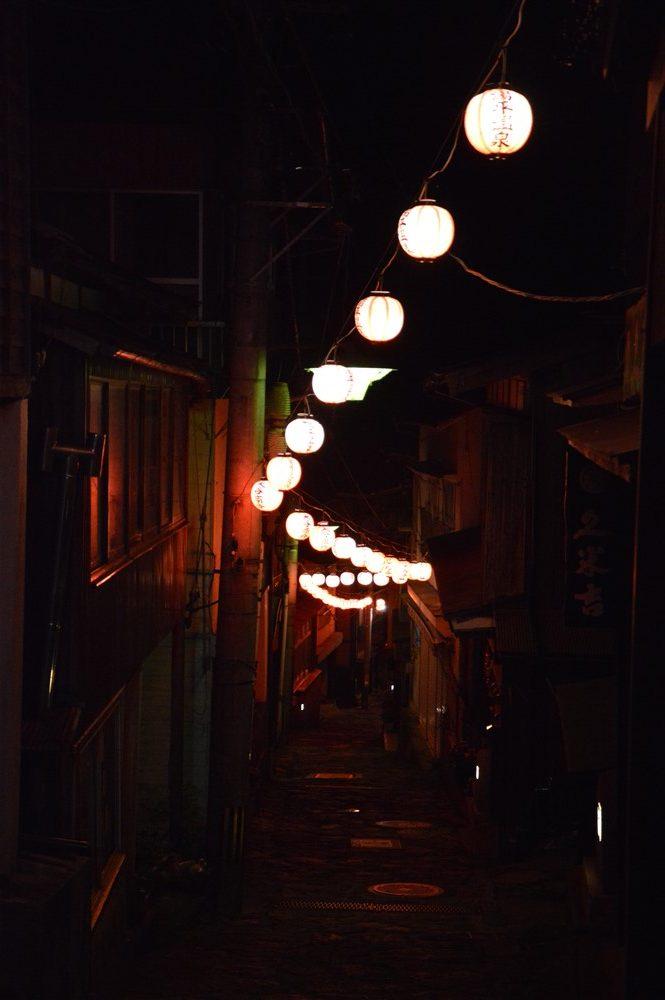 Le voyage de Chihiro de nuit