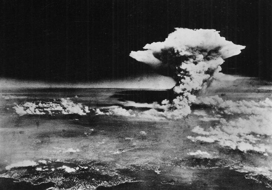 La bomba atomique sur Hiroshima