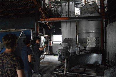 Une usine de Shochu