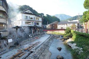 La ville de Yumura Onsen au Japon