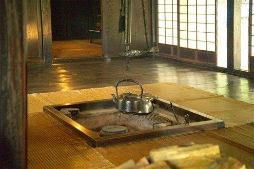 L'intérieur des maisons du Japon