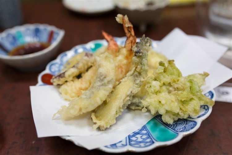 Des tempura