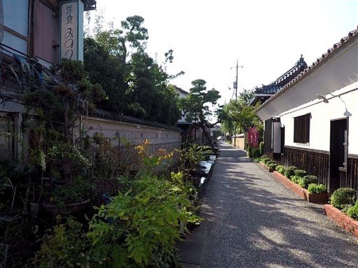 Le village de Kurayoshi