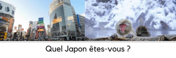 Les itinéraires pour un voyage au Japon