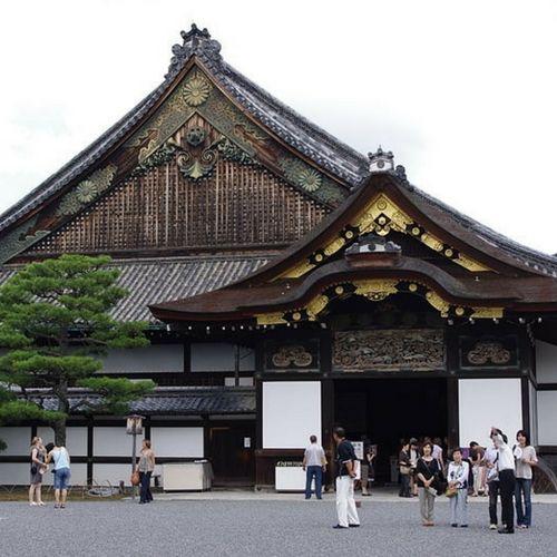 Le château de l'empereur à Kyoto