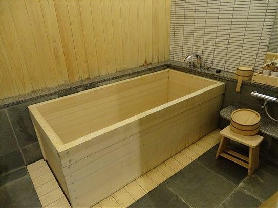 Un bain au Japon