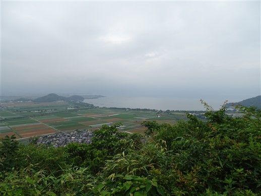 Le panorama sur Shiga