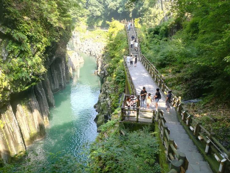 Les gorges naturelles de Kyushu