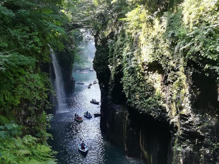 Les gorges de Takachiho