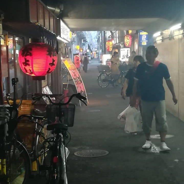 De la fumée et des lanternes