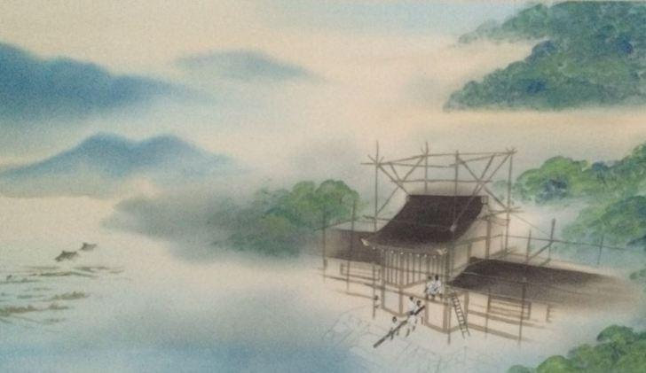 宮殿造営 神武東征神話