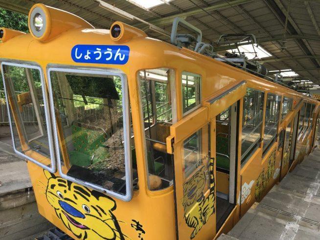 信貴山口駅と信貴線とケーブルカー (53)