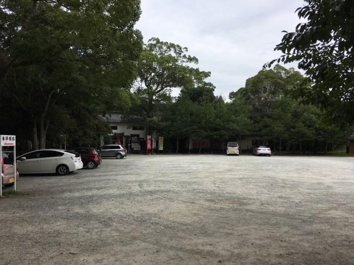 伊弉諾神宮駐車場