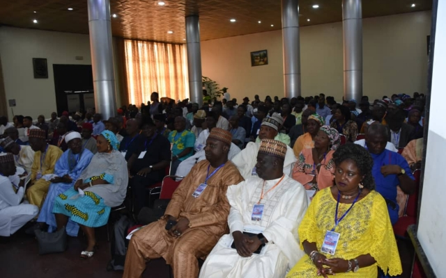 A cross section of participants at the Stakeholders workshop on 7th presentation of the Annual Flood Outlook (AFO), 2019