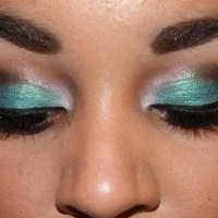 Edgy Turquoise Smokey Eye