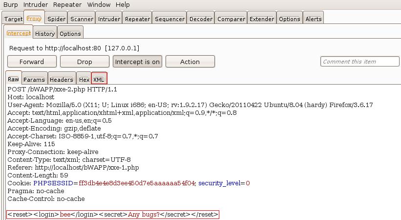 application transmits data using xml