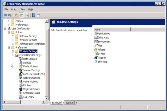 Figure 10: GPP User Configuration