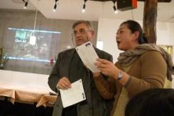 マリオ会長とMichiyoさんによるイタリア語での「聖しこの夜」
