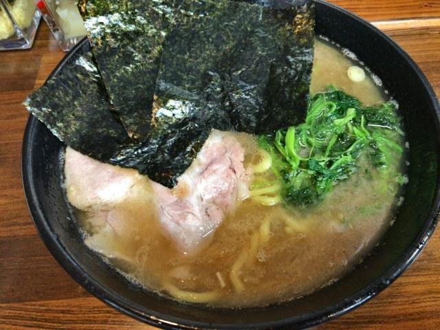 新潟市江南区にある横浜家系ラーメン のぶ家に行ってきた