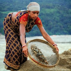 Stone Collection in Jaflong
