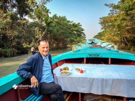Exploring the canals of Barisal