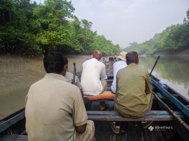 Exploring creeks and canals of Sundarbans
