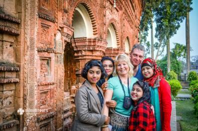 At Puthia Temple Complex in Rajshahi