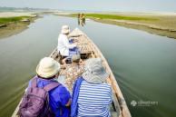 Journey toward a remote island