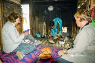 Hospitality in a Santal tribal village
