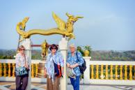 At Golden Temple on Chittagong Hill-Tracts area