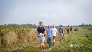 Walking inside Sundarbans, the largest mangrove forest on earth and a UNESCO World Heritage Site