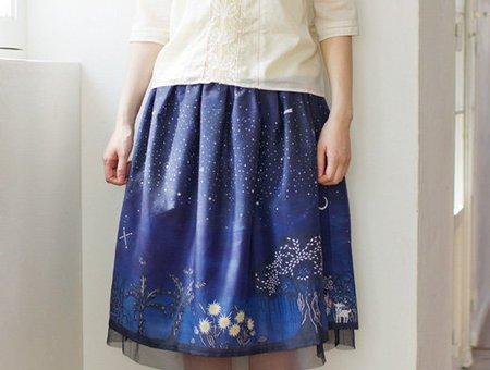 波照間の星空スカート