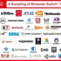 Atlus Listado Como Socio del Nintendo Switch