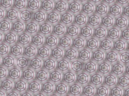 Les Fleurs du mal - Wallpaper Teeth, digital collage, 26 x 34 inches, 2014