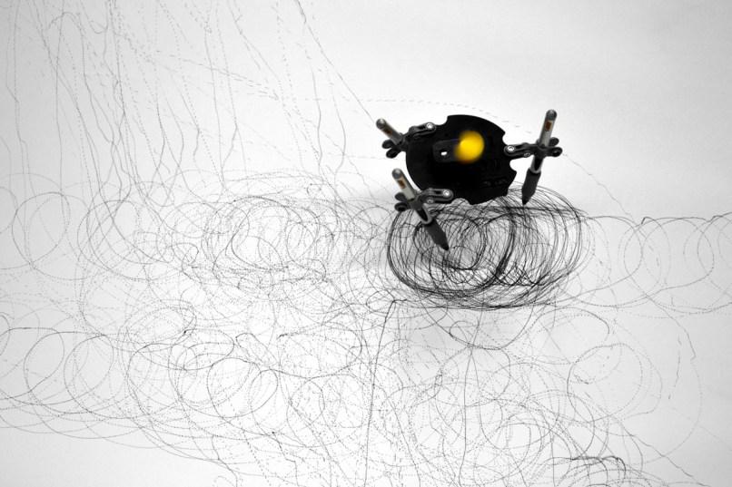 Robot drawing, 2011