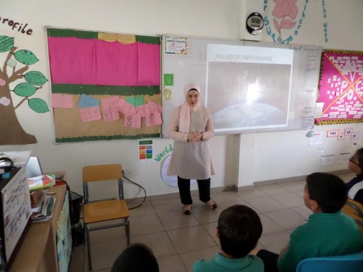 Guest speaker on Islam.