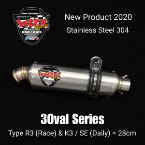 silincer wrx 3 oval series r3 & k3